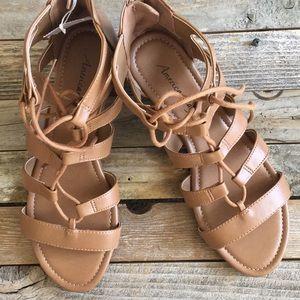 American Eagle Gladiator Sandals NWT